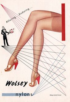 1940s UK wolsey womens hosiery stockings nylons