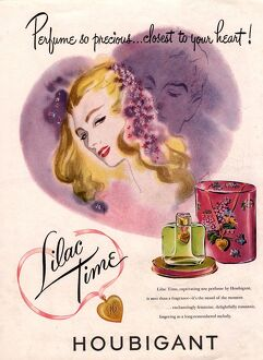 1940s USA houbigant lilac time womens