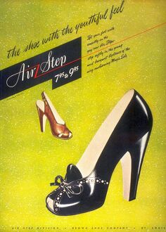 1940s USA womens shoes