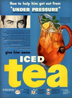 1950s USA iced tea