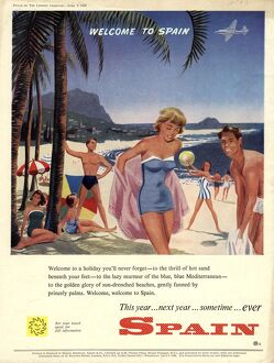 1958 1950s UK holidays spain holidays costa del sol destinations