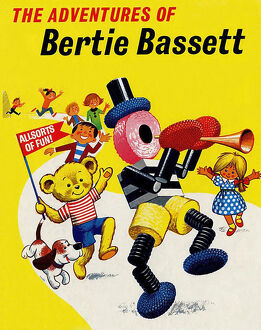 The Adventures of Bertie Bassett 1950s UK mcitnt Liquorice Allsorts sweets BassettA•s