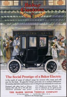 Baker Electric Cars 1910s USA