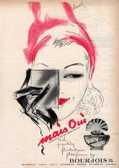 Bourjois 1940s USA mais oui womens