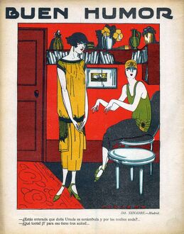 Buen Humor 1926 1920s Spain cc magazines friends interiors