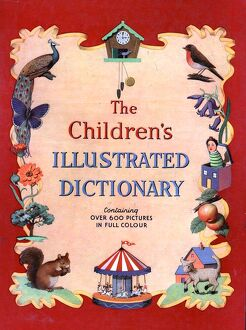 The Childrens Illustrated Dictionary 1940s UK mcitnt dictionaries childrenA•s
