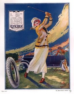 Clincher 1919 1910s uk golf tyres