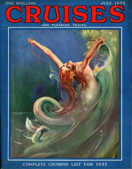 Cruises 1930s UK mermaids magazines nautical
