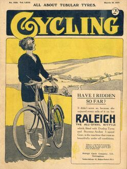 Cycling 1922 1920s UK bicycles magazines