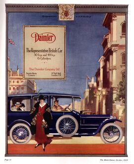 Daimler 1919 1910s UK cars