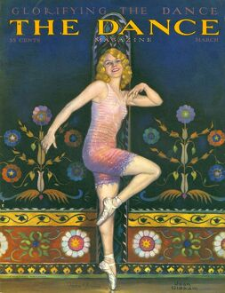 The Dance Magazine 1930s USA ballet magazines