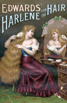 1800s/edwards harlene hair 1890s uk hair products womens