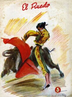 El Ruedo 1954 1950s Spain cc magazines bull fights fighting matadores matadors dangerous
