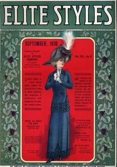 Elite Styles 1910 1910s USA womens magazines