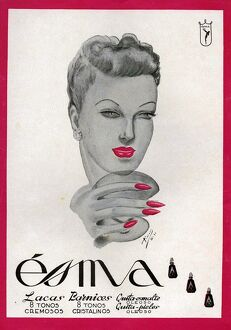 Esma 1942 1940s Spain cc face creams beauty moisturiser skin care skincare
