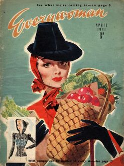 Everywoman 1940s UK shopping magazines