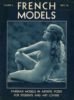 French Models 1930s USA nudes nudity naked magazines menA•s