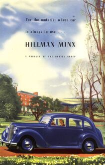 Hillman 1940s UK cars hillman minx rootes motors limited