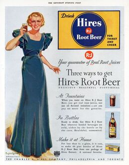 Hires 1930s USA root beer