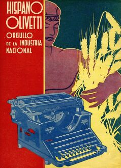 Hispano Olivetti 1936 1930s Spain cc typewriters