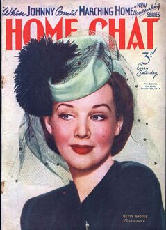 Home Chat 1940s UK hats magazines
