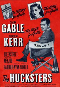 The Hucksters 1947 1940s UK Clark Gable, Deborah Kerr