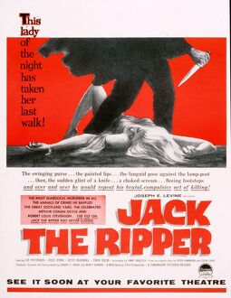 Jack the Ripper 1959 1950s USA