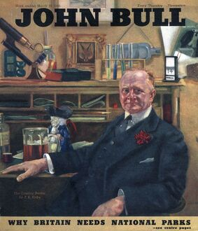 John Bull 1946 1940s UK the country doctor magazines medical