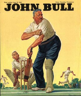 John Bull 1946 1940s UK cricket magazines