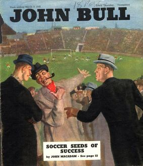John Bull 1946 1940s UK football magazines