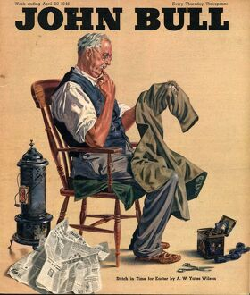 John Bull 1946 1940s UK tailors alterations magazines