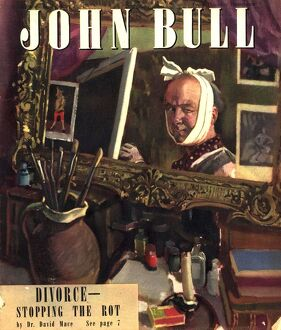 John Bull 1947 1940s UK art magazines