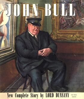 John Bull 1947 1940s UK art museums art galleries magazines