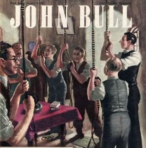 John Bull 1947 1940s UK bell ringing ringers churches magazines