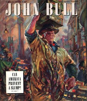 John Bull 1947 1940s UK markets covent garden billingsgate, porters magazines