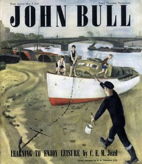 John Bull 1947 1940s UK nautical fishing boats magazines