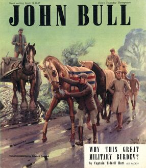 John Bull 1947 1940s UK riding horse horses racing magazines