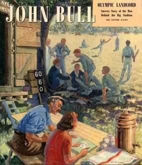 John Bull 1948 1940s UK cricket magazines