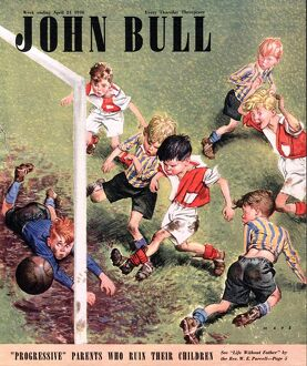 John Bull 1948 1940s UK football magazines