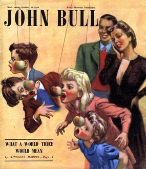 John Bull 1948 1940s UK halloween games party magazines