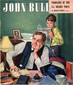 John Bull 1948 1940s UK homework latin comics reading