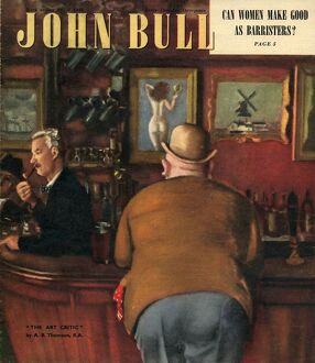 John Bull 1948 1940s UK pubs bars locals alcoholic drinking magazines