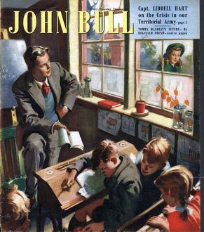 John Bull 1948 ? 1940s UK schools teachers school magazines