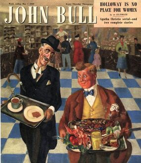 John Bull 1949 1940s UK diets slimming weight loss magazines