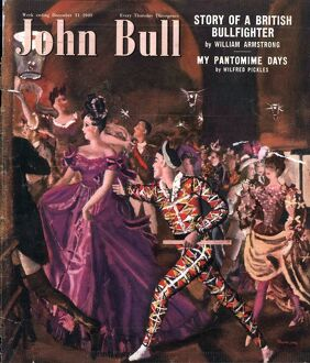 John Bull 1949 1940s UK fancy dress party magazines dancing