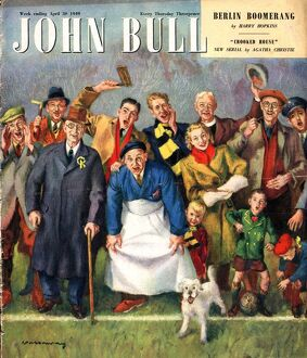 John Bull 1949 1940s UK football magazines