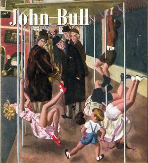 John Bull 1949 1940s UK games magazines