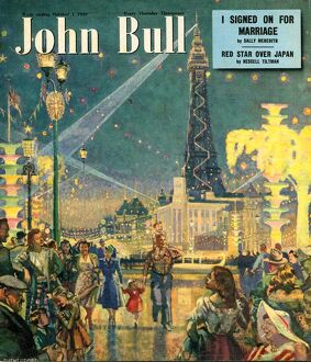 John Bull 1949 1940s UK holidays blackpool seaside magazines