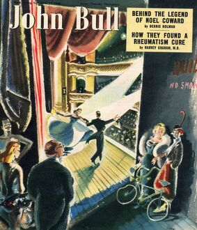 John Bull 1949 1940s UK music hall magazines