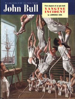 John Bull 1950 1950s UK exercise gyms magazines